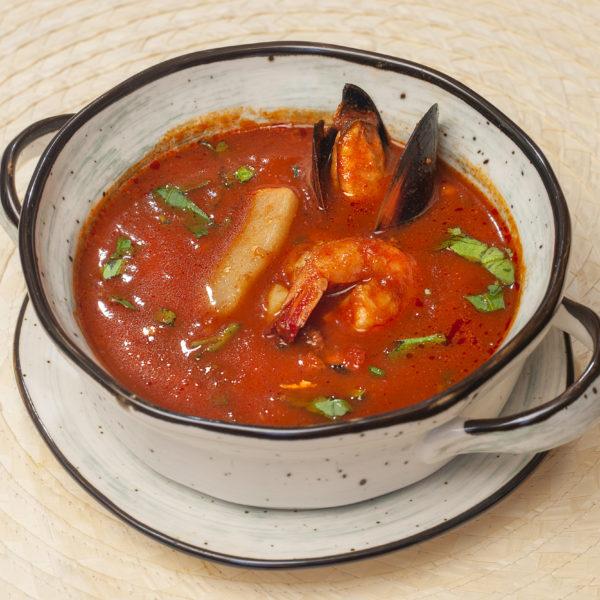 Гаванский суп де марискос