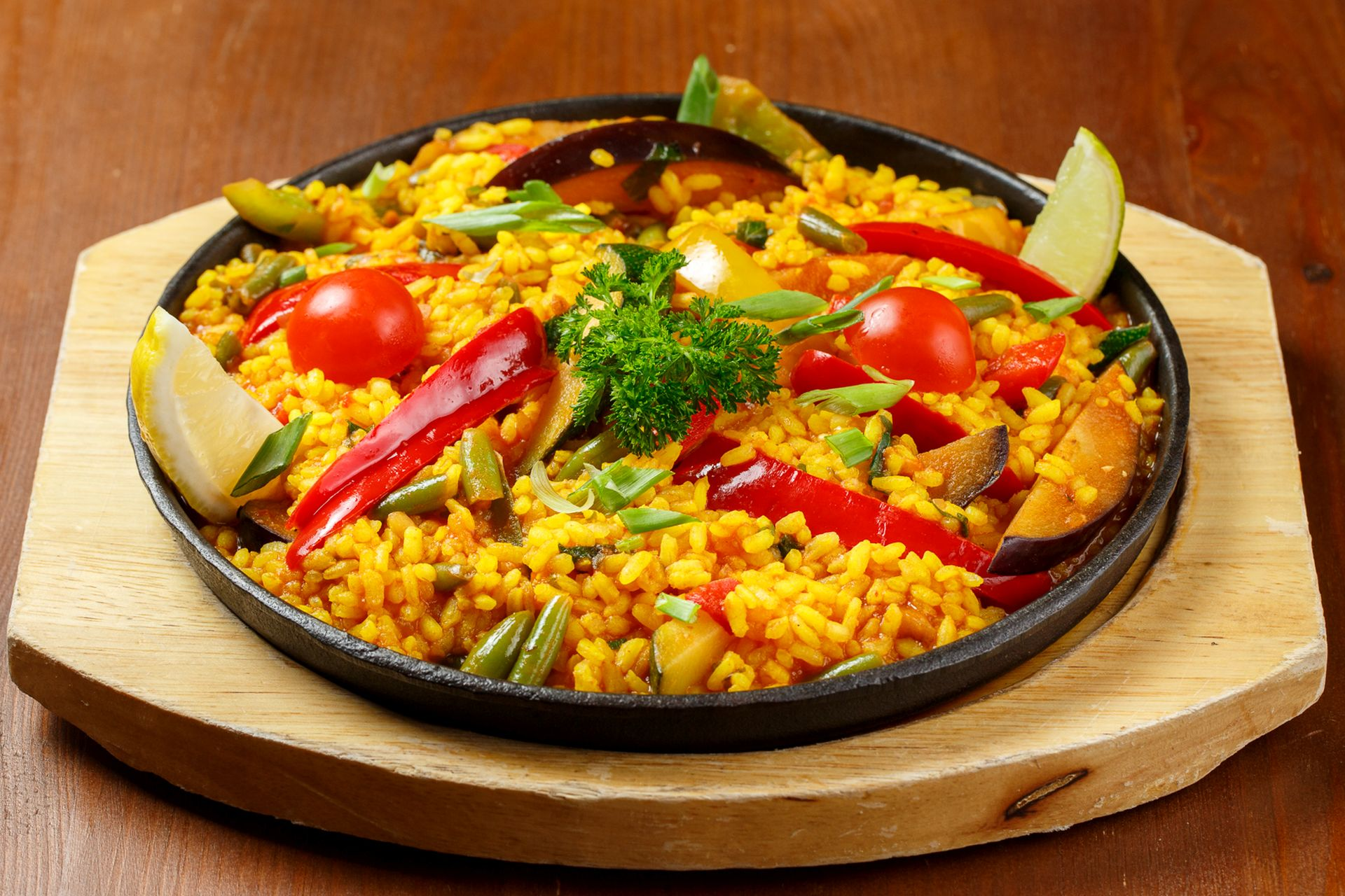 Arroz with vegetables